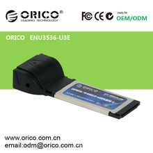 USB 3.0 + eSATA (PM) Express Card para Laptop34mm / 54mm