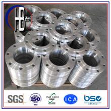 Flanges de tubos de aço inoxidável forjados OEM