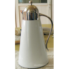 Pot de café en acier inoxydable Shell Liner Glass Sgp-1000k-D