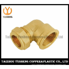Female Brass Elbow Pipe Fittings (YS3106)