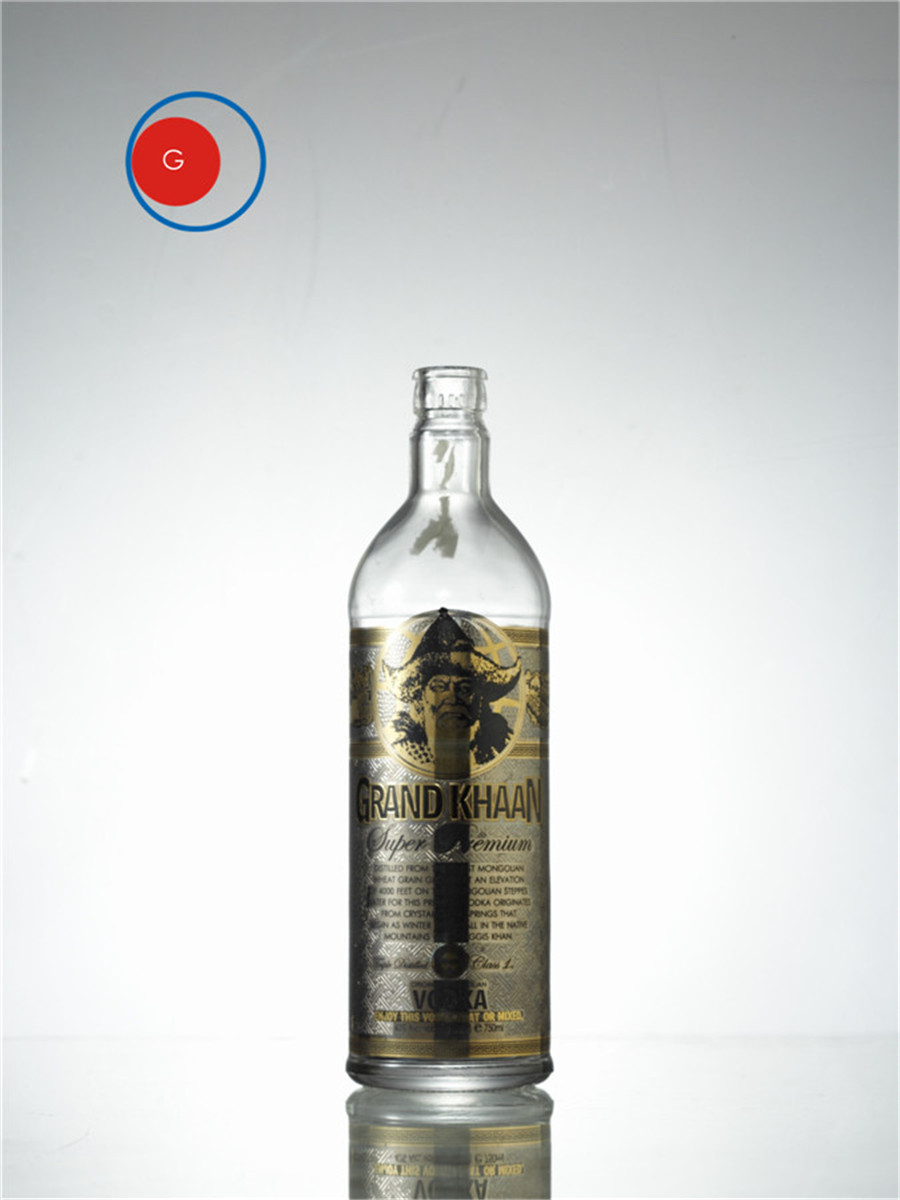 Khaan Vodka Bottle