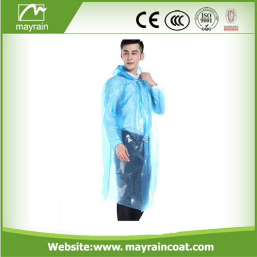 Waterproof PE Raincoats