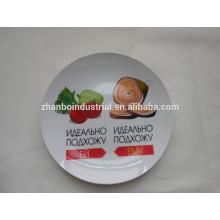 Placa de cozinha com design completo decalque
