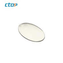Wholesale oval shape laser popular durable custom metal tags brand logo metal logos for bags