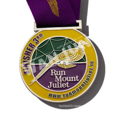 custom design top quality medal with ribbon