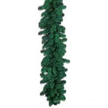 Pre-Lit Sparkling Pine Garland with 100 Clear Incandescent Lights (MY205.445.00)