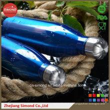 Botella de agua de la cola del acero inoxidable de 500ml 18/8 (SD-8007)