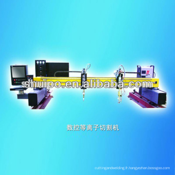 Plasma de commande numérique par ordinateur / découpeuse de flamme (découpeuse en métal)