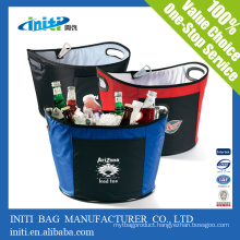 Customized Cheap insulated lunch cooler bag /insulated woven cooler bag