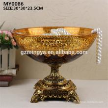 Свадебные украшения дома стекло ремесла и искусства декоративная стеклянная плита плодоовощ для домашнего декора