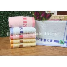 Venta por mayor llano teñido Color suave Terry toallas 100% algodón