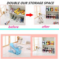 Room Saving Plastic Shoe Slot Organizer