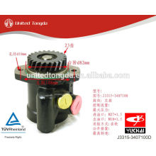 YUCHAI engine YC6J power steering pump J3315-3407100D