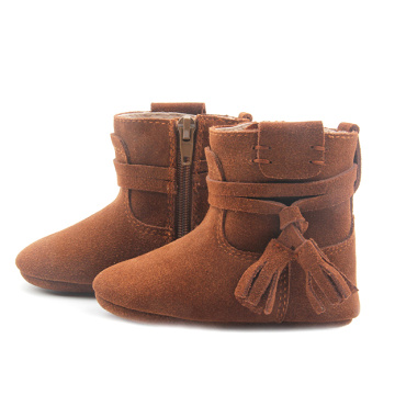 New Fashion Snow Rumbai Buckle Winter Baby Boots