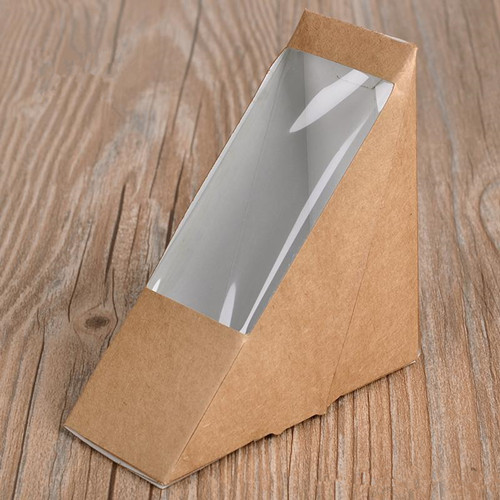 Creative Kraft Paper Sandwich Box Eco Friendly