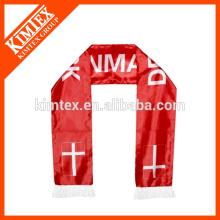 Wholesale football fan polyester scarves