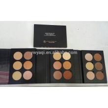 6 Farbe Compact Powder Set In EVA Farbe Einzelbox