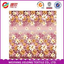 WEIFANG impresión de pigmento de tela de algodón 40 * 40 para sábanas