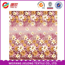 WEIFANG cotton fabric pigment print 40*40 for bed sheets