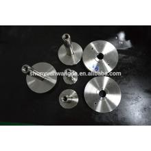 Partes de estufa de alumínio, peças de corrimão de alumínio, peças de janela de toldo de alumínio