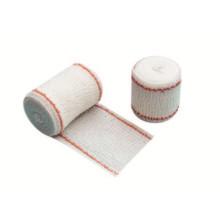 Vendaje de gasa de algodón de tamaño médico de color