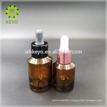 30ml 60ml essential oil glass dropper bottle amber glass bottle cosmetic glass dropper bottle