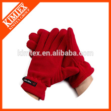 Colorful client made fleece wholesale golf gloves
