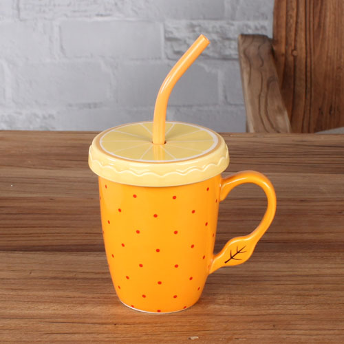 fruit coffee mug
