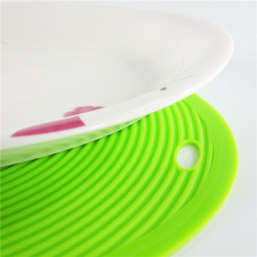 Silicone Mat Dish Drying Desk Mat