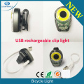 Multifuncional COB Led usb led bike lamp