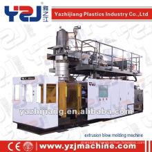 YZJ 160L accumulator die head extrusion Blow Molding Machine and deflashing machine