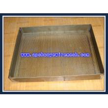 Лист пробивки отверстий с цинковым покрытием / перфорированная металлическая сетка (ISO 9001)