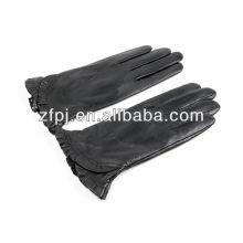 Moda mujer negro guantes de cuero productos en dubai