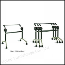 Removable Office Meeting Folding Table Base with Wheel (SP-FTL080)