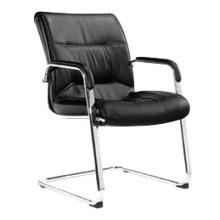 Cadeira de couro moderna cadeira de visita da conferência do escritório sem rodas (HF-BLD43)