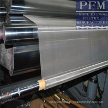 pano de filtro tecido de aço inoxidável para impressão, filtro, peneira, porta e janela de tela