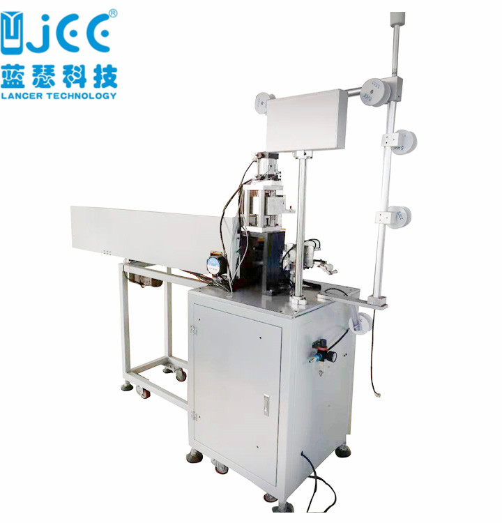 Metal Zipper Cutting Machine For Open End