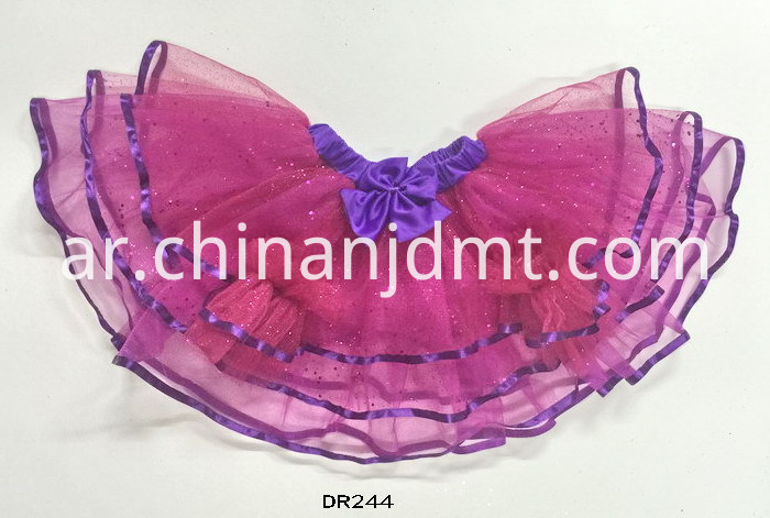 Child skirt with pink