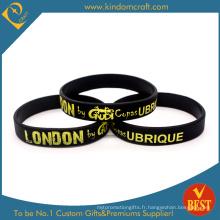 2015 bracelet de silicone de mode promotionnel de vente chaude (LN-028)