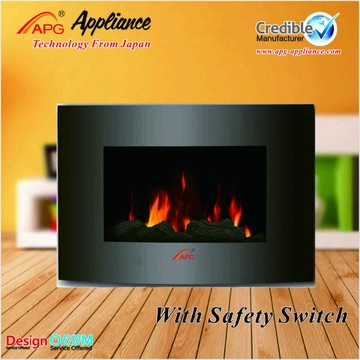 APG Decor Flame Electric Fireplace