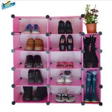 Fresh Combination Shoe Rack Armazenamento Prateleira Wardrobe Fechar