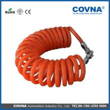 Tubo espiral vendedor caliente del aire de la PU de China
