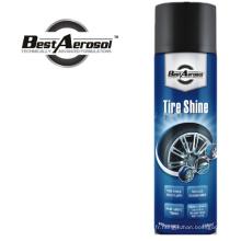 Tire Shine Roue Brillant Roue Nettoyant Car Care Aerosol