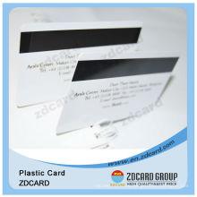 Plastic Magnetic Stripe PVC Card
