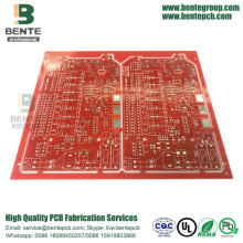 PCB de design moderno PCB Custom Red Ink