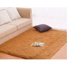 Cheap Plush Carpet Mats, Khaki
