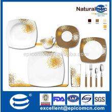 2014 new arrival dandelion design household utensils porcelain wholesale porcelain dinnerware