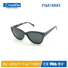 High Quality Acetate Material Frames with Tac Lens Sunglasses Bulk Buy From China