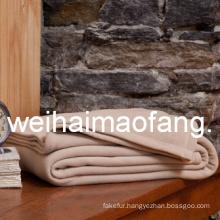 Wholesale of 100%Pure Wool Hotel Blanket