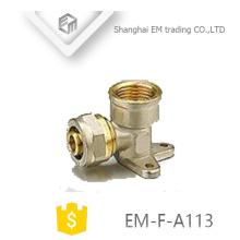 ЭМ-Ф-А113 Фикчированный Тип Тип тройника внутренней резьбой компрессионный латунный штуцер трубы
